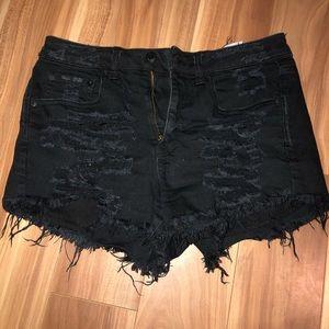 American Eagle vintage distressed shorts